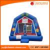 青の気球の主題の跳ね上がりの家の膨脹可能な警備員(T1207)