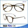 Nueva lente de Eyewear del marco óptico del espectáculo del acetato del diseño