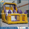 2016 diapositiva vendedora caliente inflable, diapositiva doble inflable del resbalón del carril para la venta