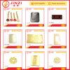 Изготовленный на заказ бирки Hang одежды металла, металл выгравировали бирку ярлыка логоса для сумки/одежды