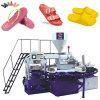 Máquina moldando do PVC para a fatura das sapatas
