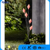 Zonne LEIDEN Licht met 5 Plastic Bloemen