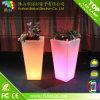 재배자 LED RGB 16 색깔 변화를 가진 플라스틱 화분을 각자 급수하는 고전적인 정연한 란