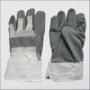 De zwarte Vinyl Doordrongen Handschoenen van het Kunstleder (2807)