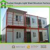 2개의 지면 살아있는 콘테이너 집을%s 상류 Prefabricated 콘테이너 집