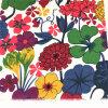 Напечатанная ткань поплина цветка весны для листа