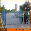 Cerca temporal del sitio Fencing/Ca del jardín revestido plástico
