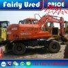 Excavador de la rueda de Daewoo Dh130W-5 de la mano de la original segunda en Paquistán