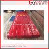 Folha galvanizada revestida da telhadura do metal da cor vermelha no bom preço