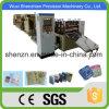 Saco padrão do papel de embalagem de Brown do controle do PLC do GV que faz a máquina
