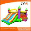 Castelo de salto inflável da impressão encantadora com corrediça T2-302