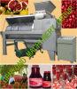 Granatapfel-Startwert- für Zufallsgeneratorschale, die Maschine entfernend sich trennt
