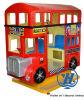 De rode Machine van het Spel van de Rit van Kiddie van de Bus van Londen (zj-K23)