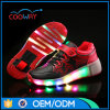 Wholesales Wheel Shoes Kids Roller Skate Shoes Luminous Sports Shoes with PU