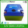 batteria di 12V 30ah LiFePO4 per la batteria del carrello di golf e del carrello di golf 12V