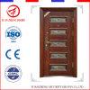 Puertas exteriores del diseño de la parrilla del hierro de la frente interno del acero del surtidor de China