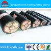 Câble blindé du câble d'alimentation 0.6/1kv VV32 de PVC/Swa/PVC