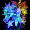 屋外の装飾のための防水LEDの星ストリングライト