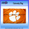Bandeira dos tigres da universidade de South Carolina Clemson