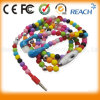 Любовник Beads Necklace в Ear Earbuds Earphones Headphones