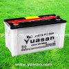 El último estruendo 12V100ah estándar de Yuasan seca la batería auto para el coche--60038