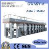 De alta velocidad de la computadora de la máquina de impresión de etiquetas multicolor (GWASY-A)