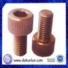 Soquete Hex parafuso de cobre escareado