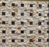 Natural Mosaico de piedra del acero inoxidable de la pared del edificio y todos los azulejos de fondo (FYSSD079)