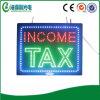 Scheda aperta di imposta sul reddito del LED