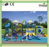 スライドKq50048Aが付いているKaiqiの演劇の多彩で、涼しく大きいマルチ水平な子供の運動場