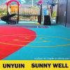 Чисто пол PVC цвета для парка атракционов и детсада