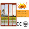 熱い販売の最も安いガラスアルミニウムドア(SC-AAD082)