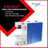 La máquina de la marca del laser de la fibra para la insignia del metal, código, números de serie, fecha el grabado