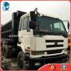Op zwaar werk berekende Vrachtwagen van de dumpen-Functie Japan-Ud-Nissan van het naakt-ro/ro-pakket de origineel-F6-diesel-Motor Gebruikte