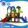 Apparatuur van de Speelplaats van de Dia van jonge geitjes de Veilige Kleine Plastic Openlucht Dubbele (yl-S125)