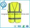 Veste reflexiva alaranjada dos miúdos da segurança do vestuário feito sob encomenda das crianças para o tráfego