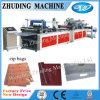 Automatisches Non Woven Bag mit Zipper Machine auf Sale