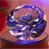 Выгравированный диамант цветастого диаманта Shining кристаллический