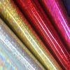 Alto cuero de la PU de la luz para el bolso/la caja y el patrón adornado del laser (6815)