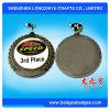 Прозрачное романное медаль спорта шипучки от фабрики Китая