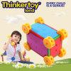 Brinquedo de bloqueio colorido da caixa plástica para miúdos