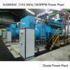 Power Plant Mw United Power Diesel Generador