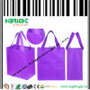 Bolso de compras no tejido de la tela para el supermercado