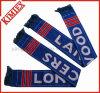 二重層のアクリルのジャカードチームフットボールのスカーフ