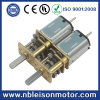 12mm Eléctrico Micro Metal Gear Motor con eje doble