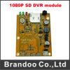 秘密DVRのモジュール、128GB SDのメモリ、1080P解像度、60f/S