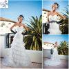 2012 vestidos de casamento brancos de Organza (WD-035)
