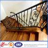 Загородка ковки чугуна черной лестницы декоративная