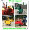 Burineur en bois hydraulique d'alimentation électrique d'individu, broyeur en bois Wc-18 Chipper