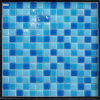 Swimming Pool Tileのための300X300mm Blue Crystal Glass Mosaic